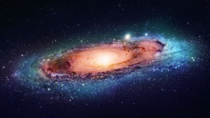 Una Galaxia de las más de 100 mil millones que existen en el universo